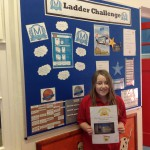 Jessica - secured top place in the WORLD in mathletics Jan 16