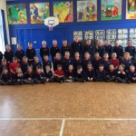 Whole school practice for Dungannon Festival