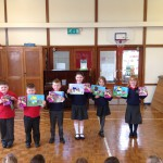 Prize winners in the Ulster Bank Easter competition