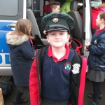 A policeman in the making