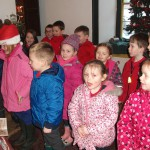 Singing for Mrs Claus
