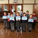 P4 swimming awards