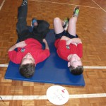 Additional exercise class as part of healthy tuck week
