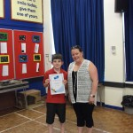 Gold certificate winner in Mathletics