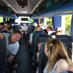 bus one are full of chat