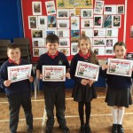 P4 pupils who reached their term 2 AR target