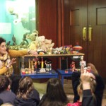 P1-4 enjoyed a visit to Armagh Museum to look at toys from times gone by